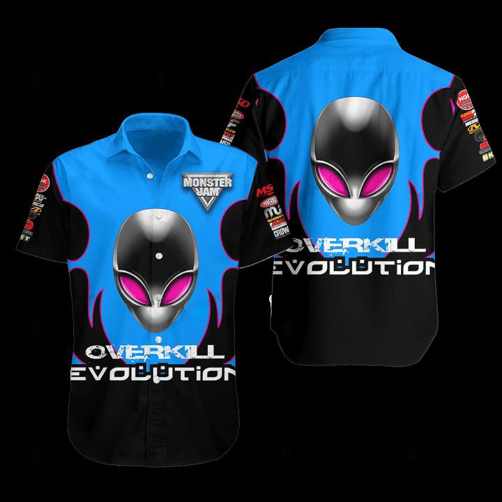 Overkill Evolution Hawaiian Shirt