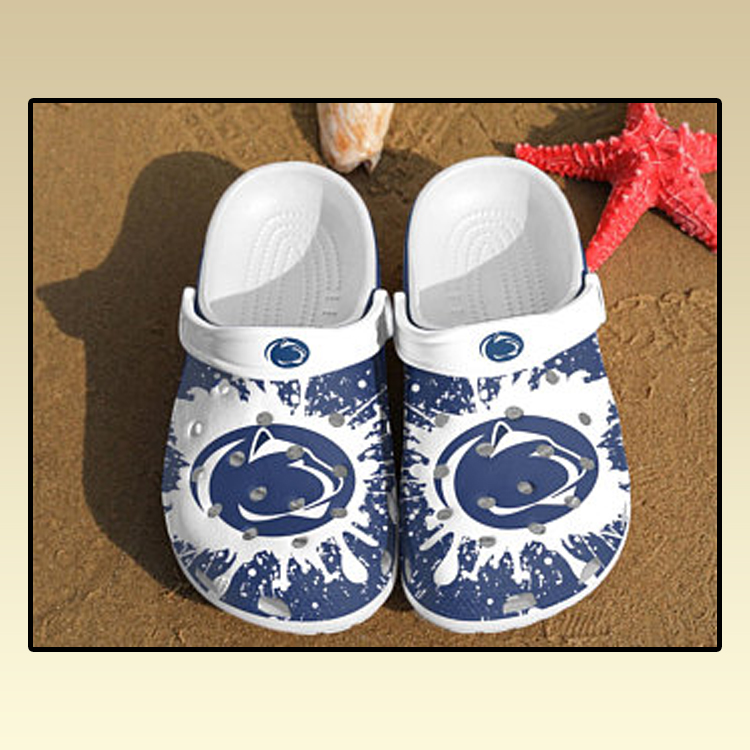 Penn State Nittany Lions croc crocband shoes3