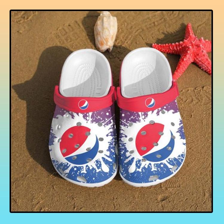Pepsi croc crocband shoes1
