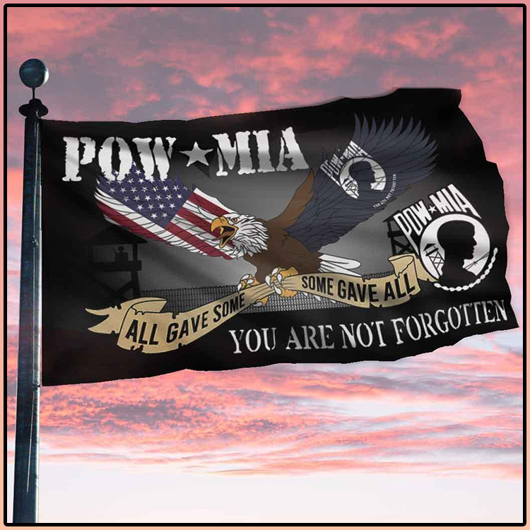 Pow Mia All Gave Some Some Gave All You Are Not Forgotten Flag2