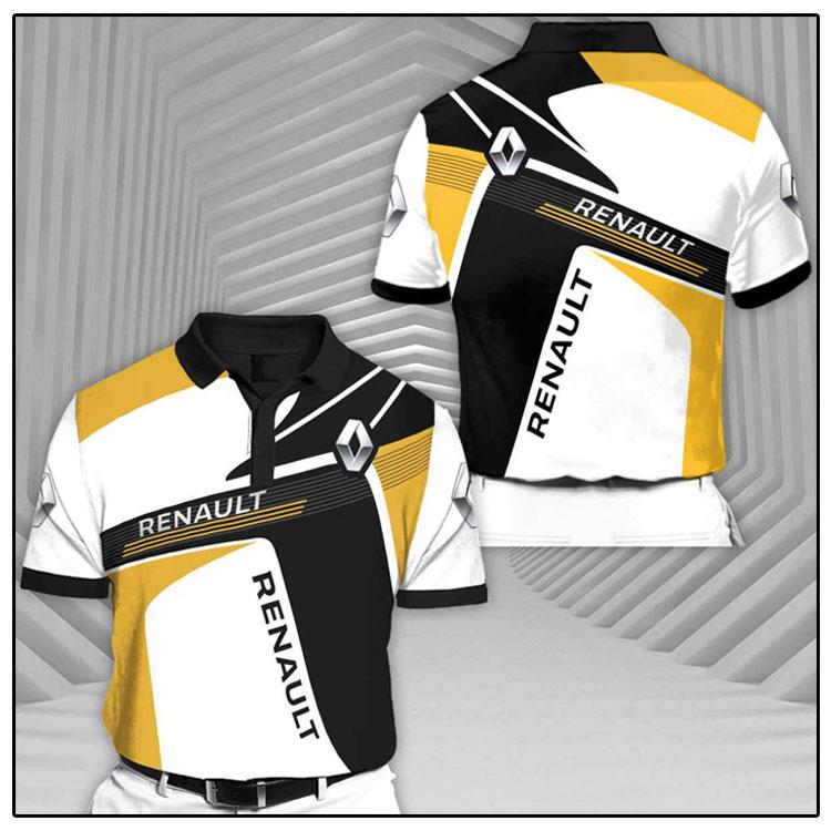 Renault Rcv1 Short Sleeve Polo Shirt