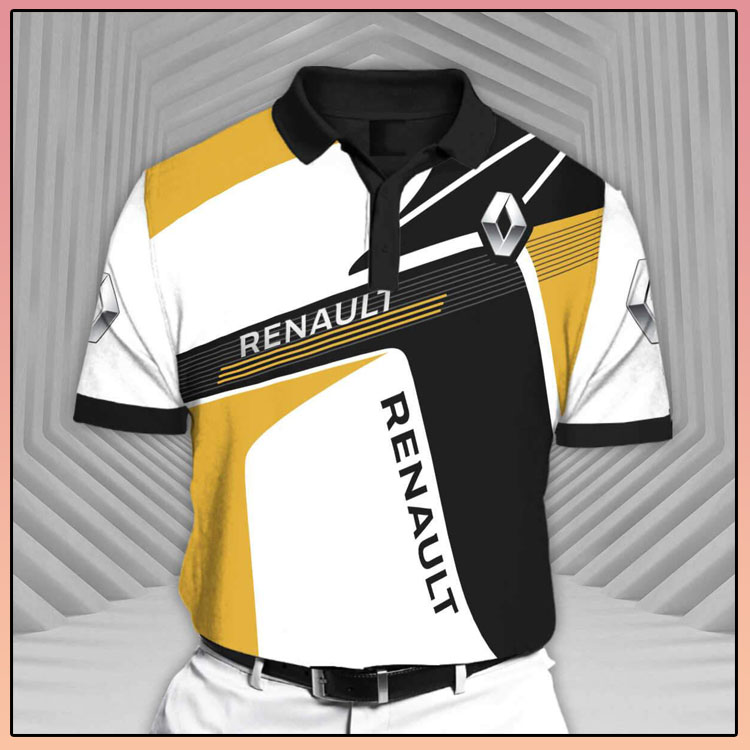 Renault Rcv1 Short Sleeve Polo Shirt2