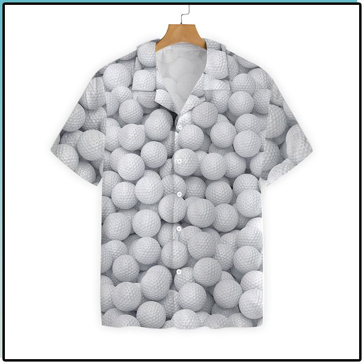 Render Golf Balls Hawaiian Shirt3