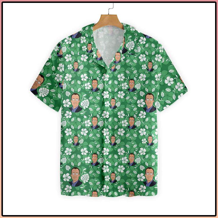 Sam Flowers Pattern Hawaiian Shirt 3