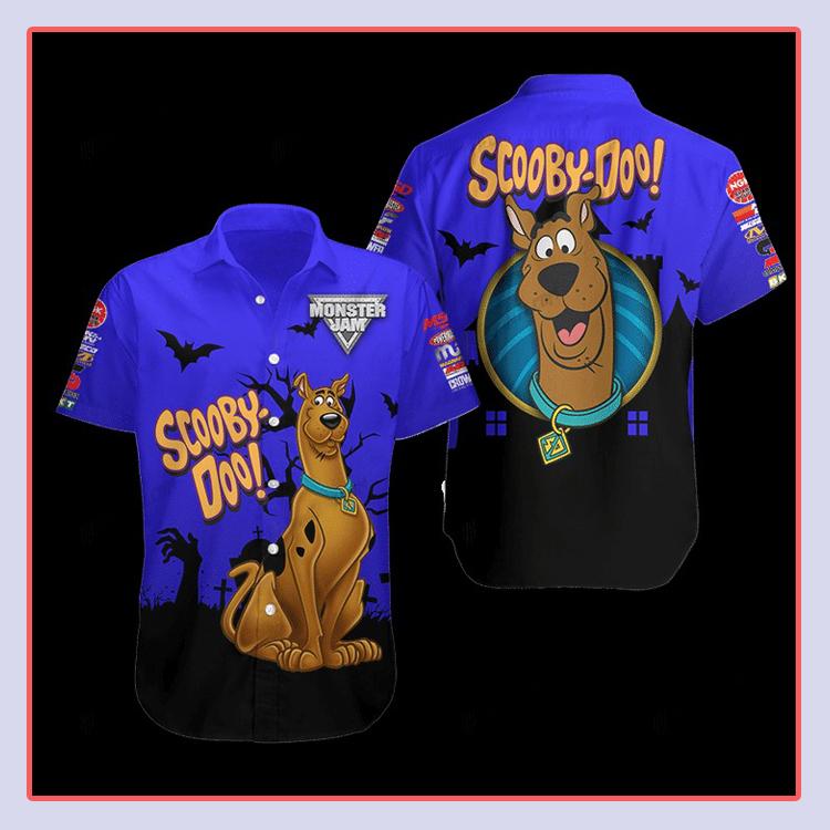 Scooby Doo Hawaiian Shirt4
