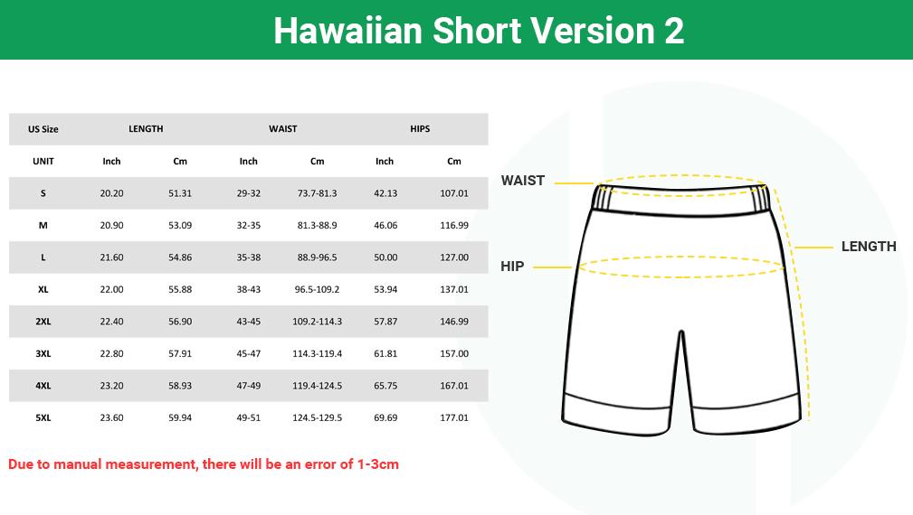 Shorts Size Chart 1 1
