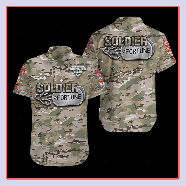Soldier Fortune Hawaiian Shirt4