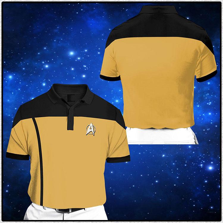Star Trek Short Sleeve Polo Shirt 1