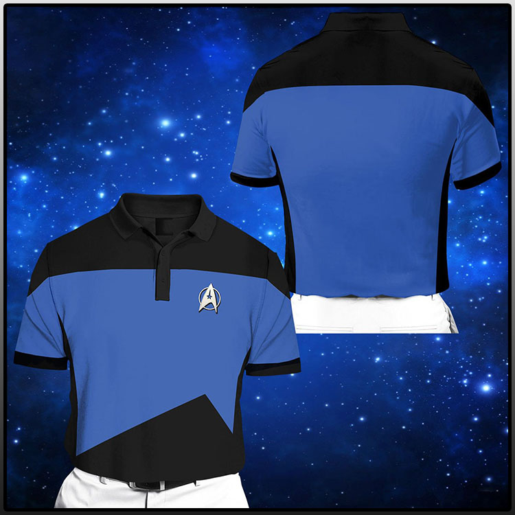 Star Trek Short Sleeve Polo Shirt3 1