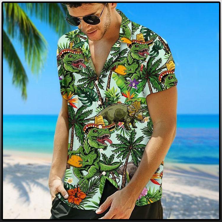 Taco-Dinosour-Hawaiian-Shirt-2
