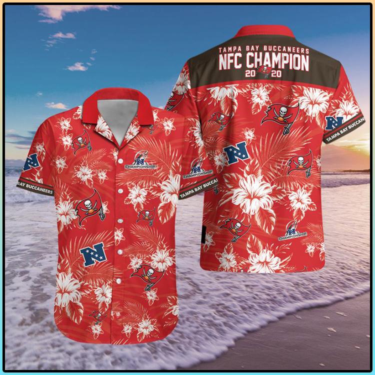 Tampa Bay Buccaneers NFC 2020 Champions Hawaiian Shirt 5