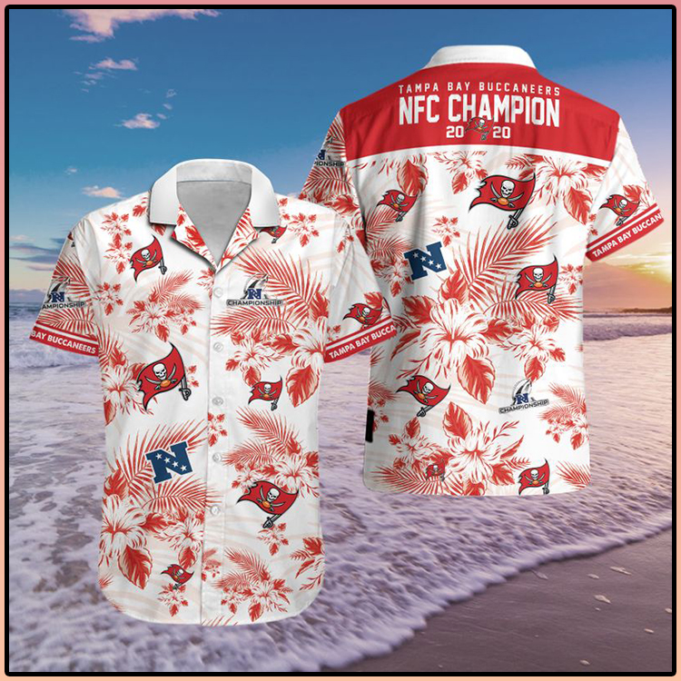 Tampa Bay Buccaneers NFC 2020 Champions Hawaiian Shirt 7