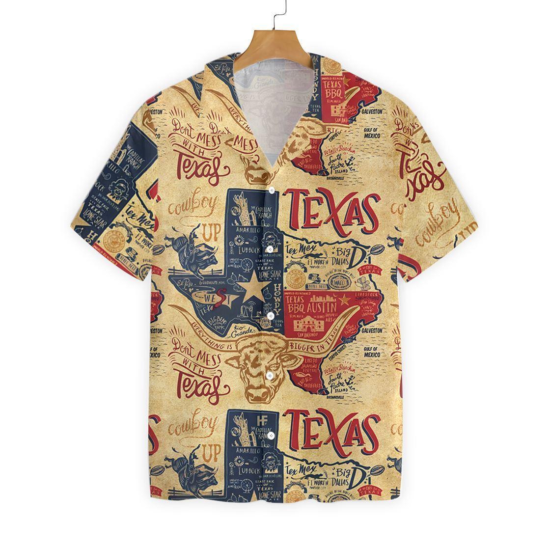 Texas Proud Hawaiian Shirt1