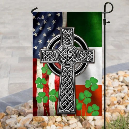 The Irish Celtic Cross Flag1