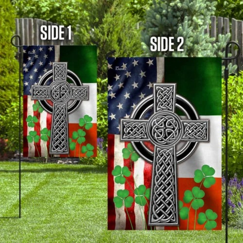 The Irish Celtic Cross Flag4