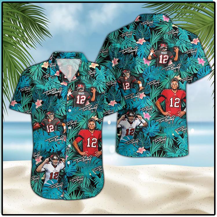 Tom Brady Tampa Bay Buccaneers Hawaiian Shirt 1