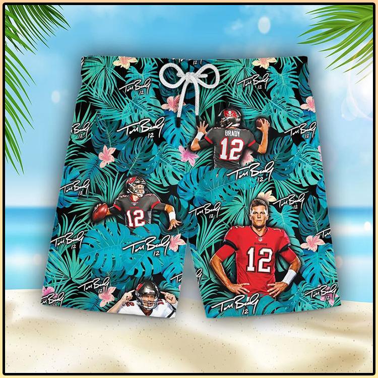 Tom Brady Tampa Bay Buccaneers Hawaiian Shorts6