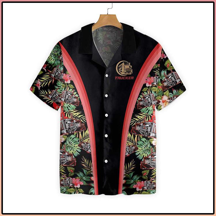 Trucker Tropical Hawaiian Shirt3