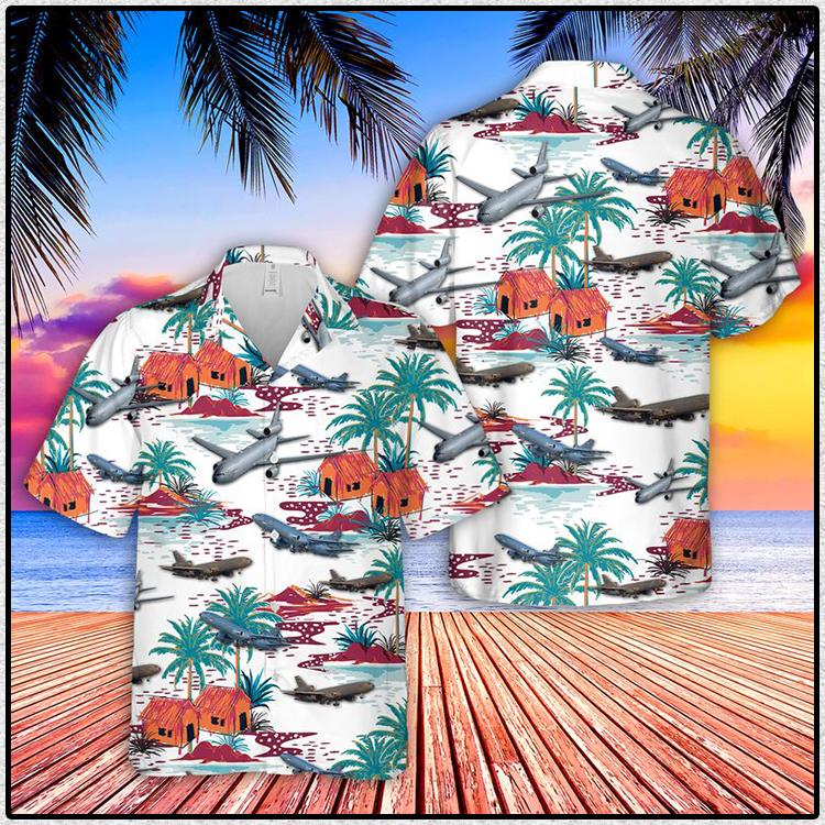 US Air Force McDonnell Douglas Extender Hawaiian Shirt and Short3
