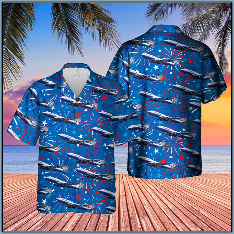 US Airlines 4 Boeing 4th of July Hawaiian Shirt3