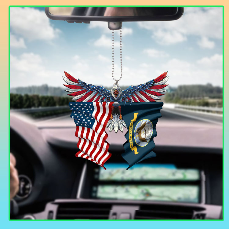 United State Navy American eagle car hanging ornament7