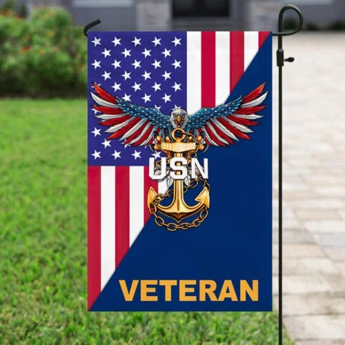 Veteran United States Navy American flag4