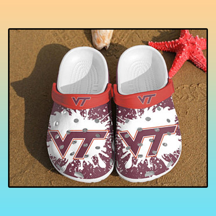 Virginia Tech Hokies croc crocband shoes3