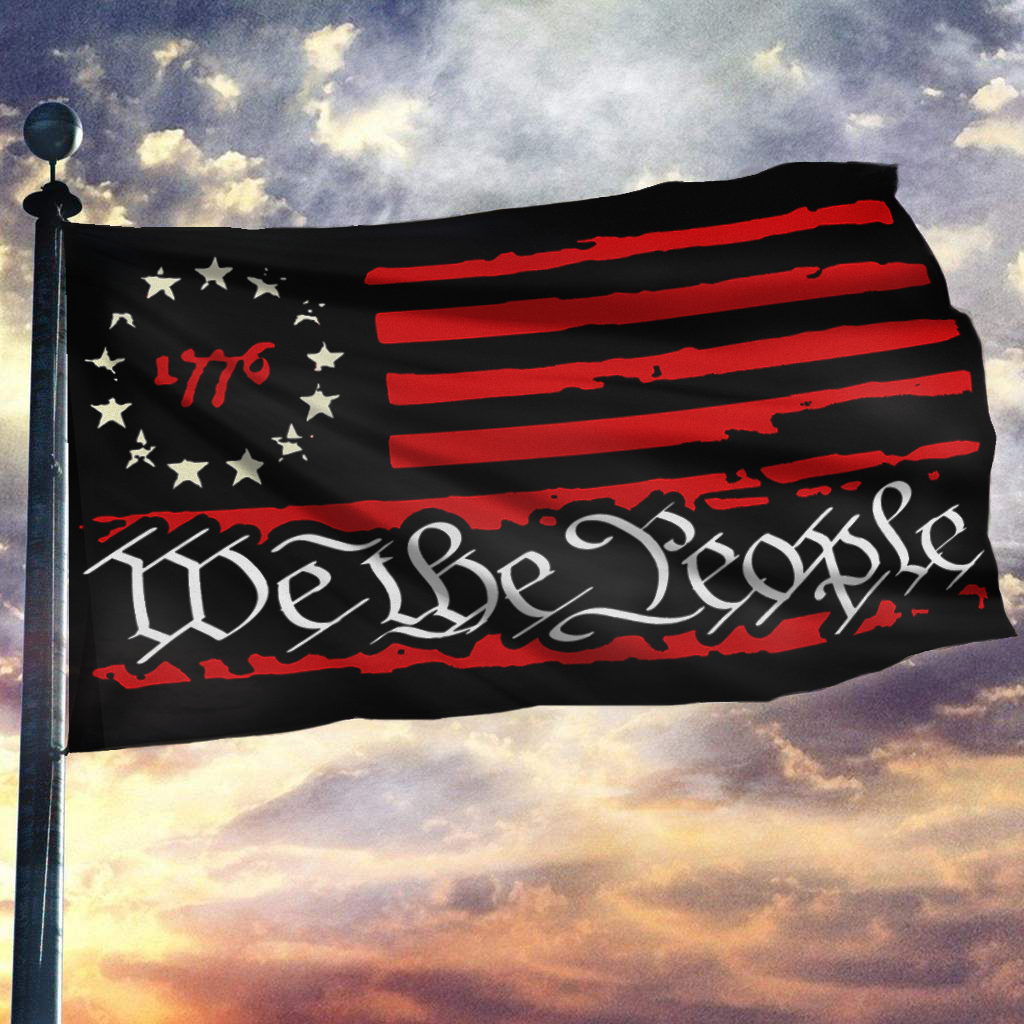 We The People 1776 flag