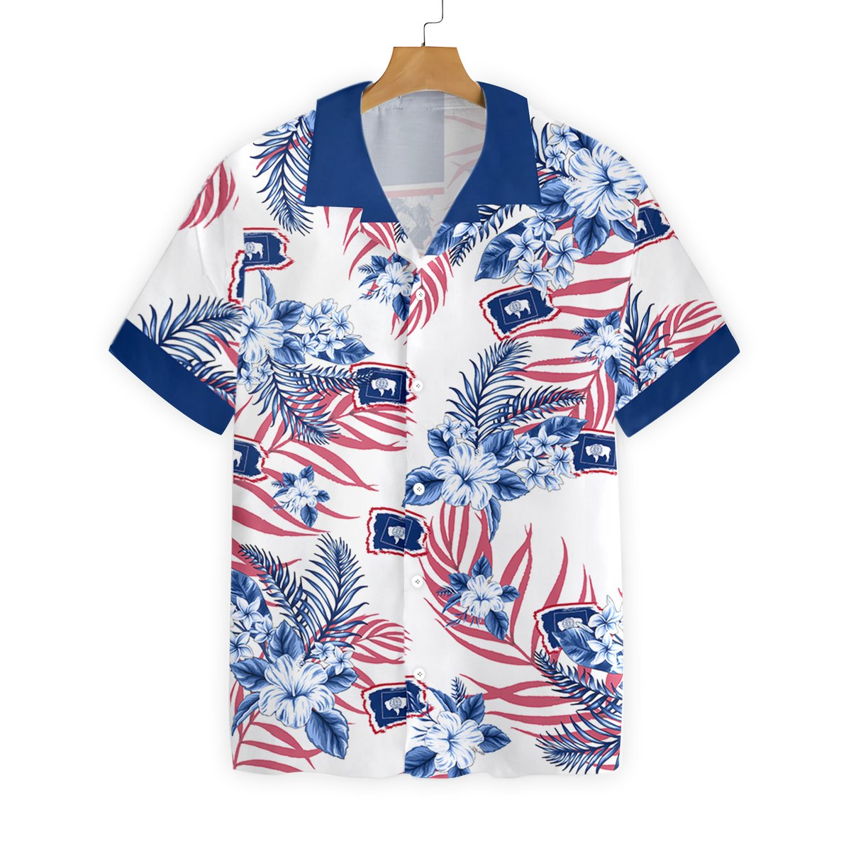 Wyoming Proud Hawaiian Shirt1 1