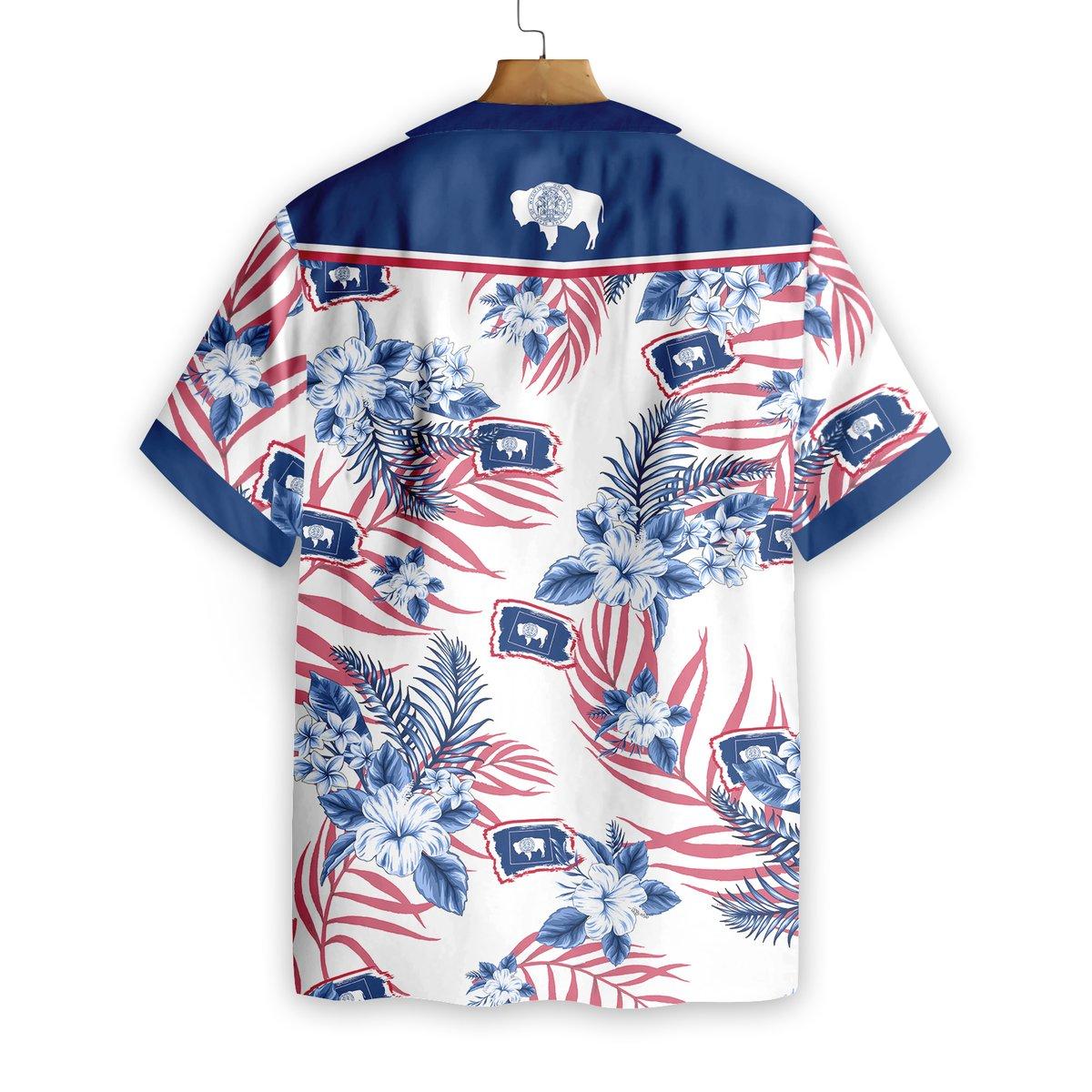 Wyoming Proud Hawaiian Shirt2 1