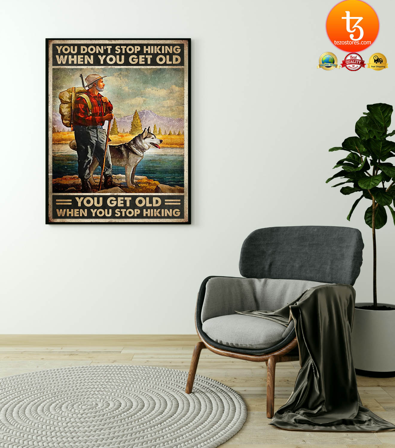 You dont stop hiking when you get old poster 21