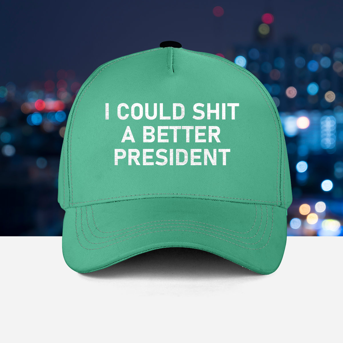 1 I Could Shit A Better President Cap 1