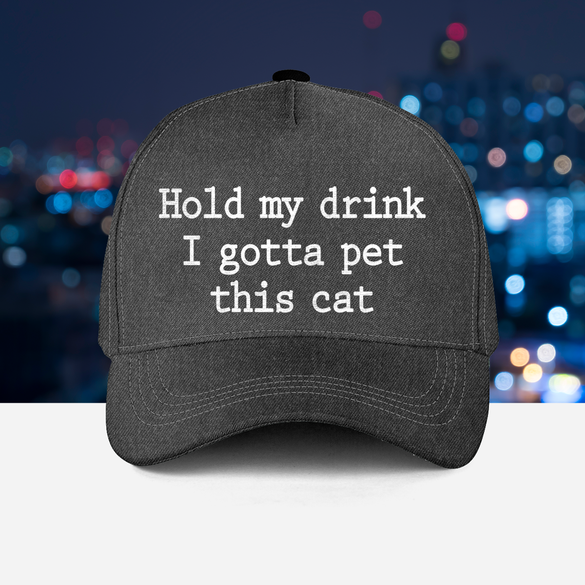 2 Hold My Drink I Gotta Pet This Cat Hat 1
