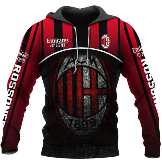 AC Milan 1899 Emirates Fly Better 3d Hoodie1