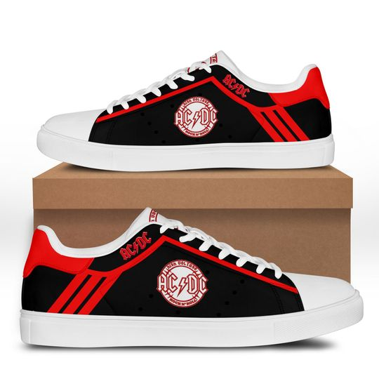 ACDC rock Stan Smith Shoes1