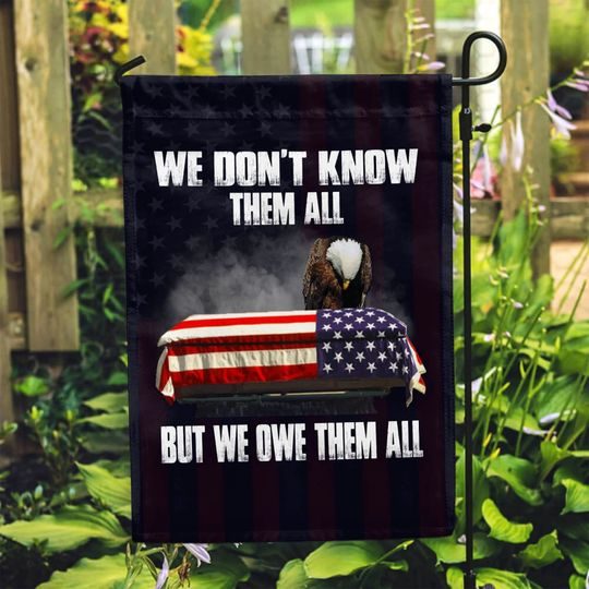 American Eagle We dont know them all but we owe them all flag3