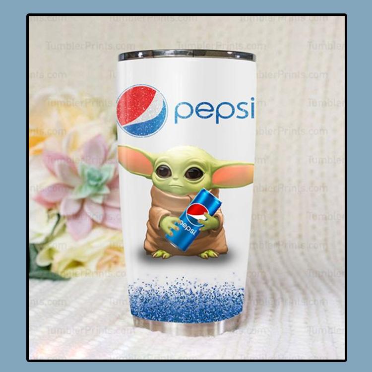 Baby Yoda pepsi tumbler1