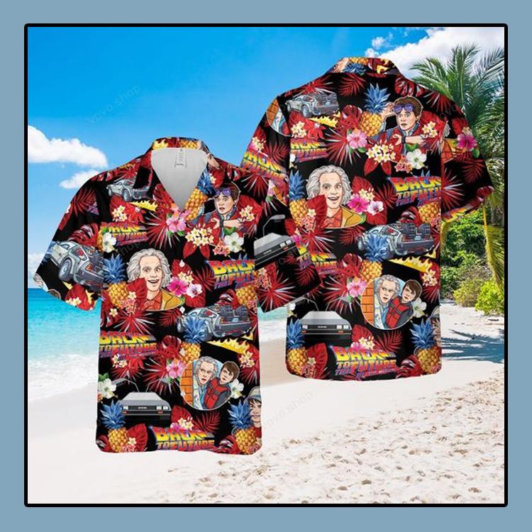 Back to the future music Hawaiian Shirt4