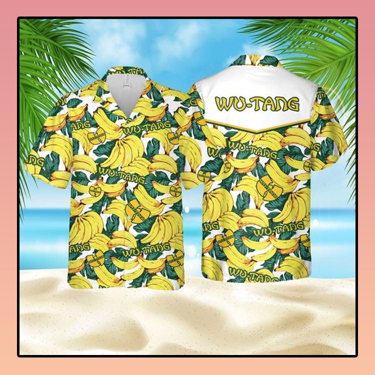 Banana Wu Tang Hawaiian Shirt3 1