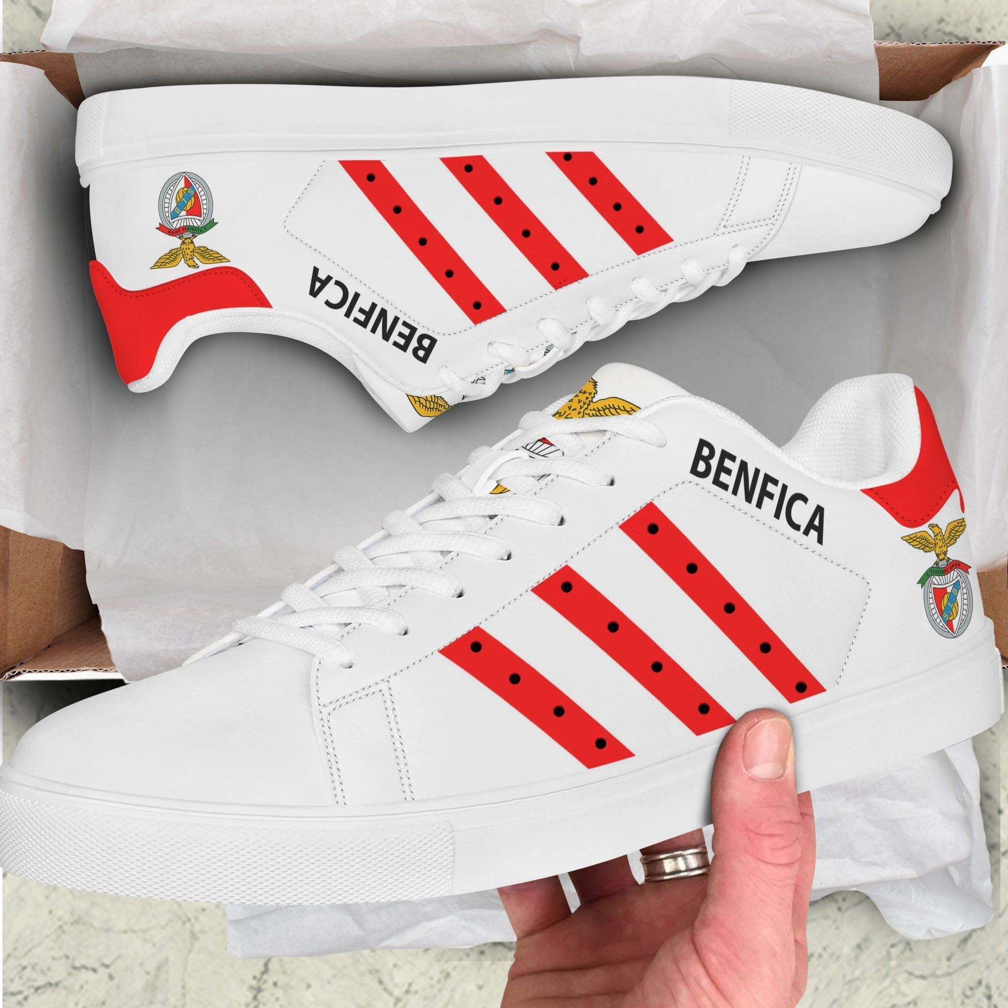 Benfica Stan Smith Shoes1