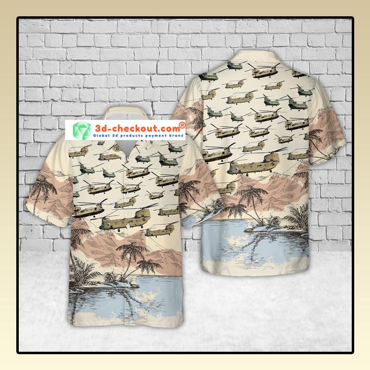 Boeing CH 47 Chinook US Army Hawaiian Shirt And Shorts