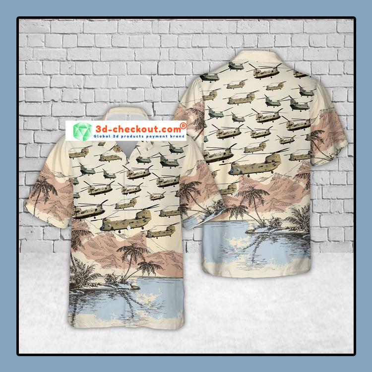 Boeing CH 47 Chinook US Army Hawaiian Shirt And Shorts3