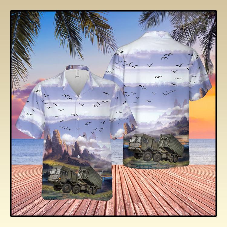 British Army Enhanced Pallet Load System EPLS Hawaiian Shirt4