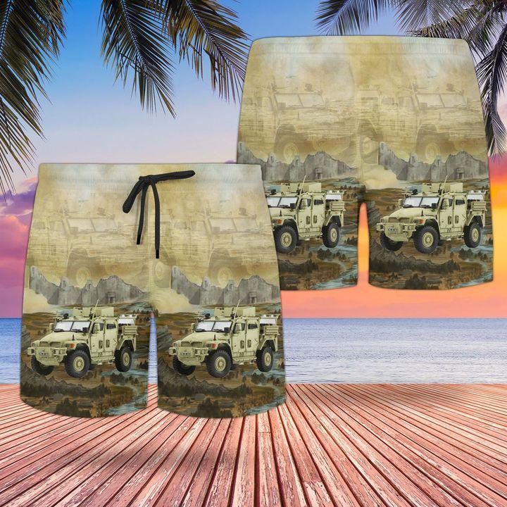 British Army Husky TSV Tactical hawaiian and beach short2