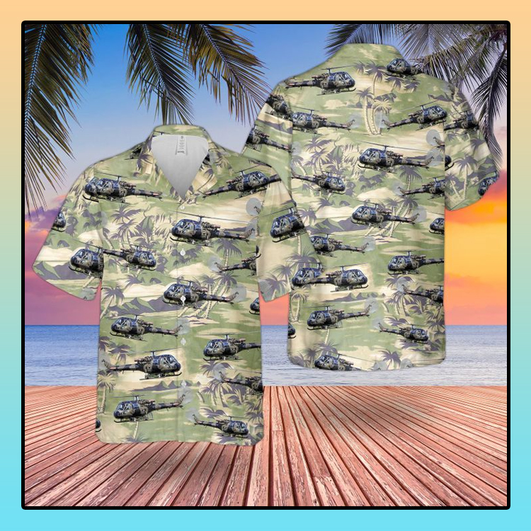 British army historical westland scout AH1 hawaiian4
