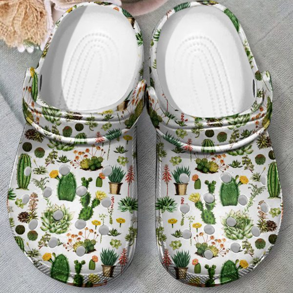 Cactus croc shoes crocband clog