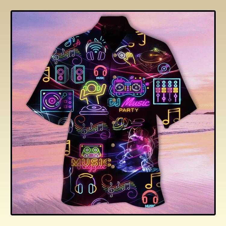DJ non stop tonight hawaiian shirt3