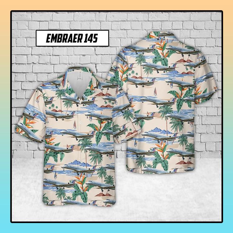 Embraer 145 Envoy Air Hawaiian Shirt3