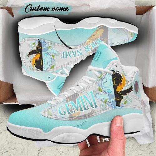 Gemini custom name Air Jordan 13 Sneaker Shoes1