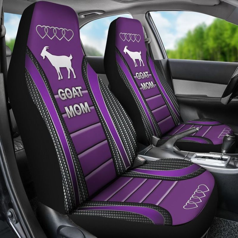 Goat Mom Seat Cover1